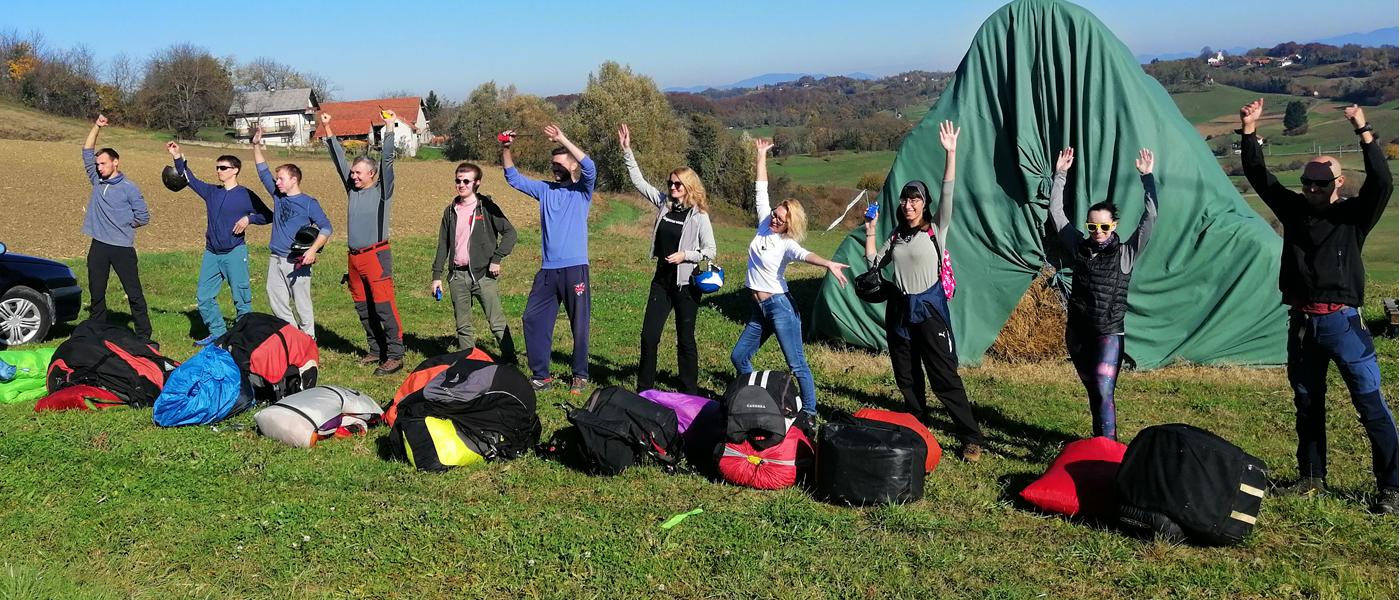 paragliding škola 2020/2021